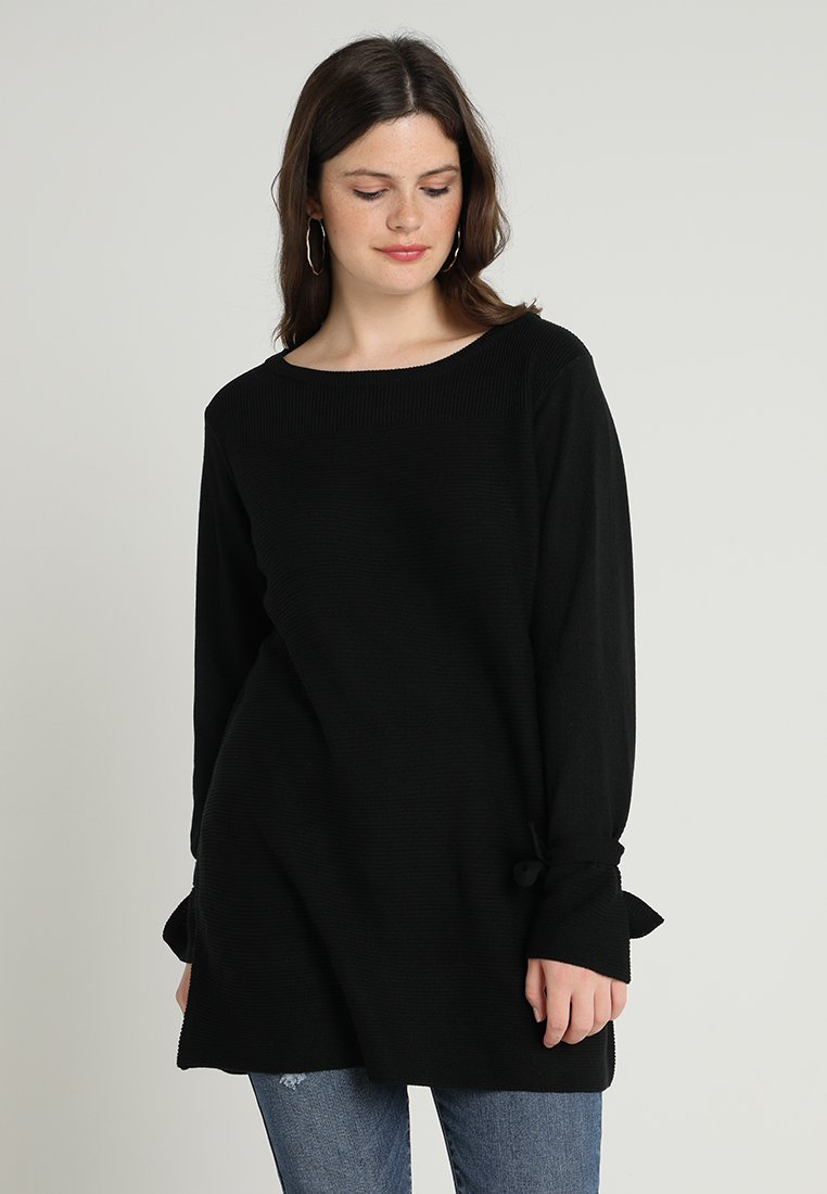 Zalando Essentials Curvy - Pullover - black