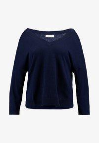 Zalando Essentials Curvy - Jersey de punto - dark blue - 3