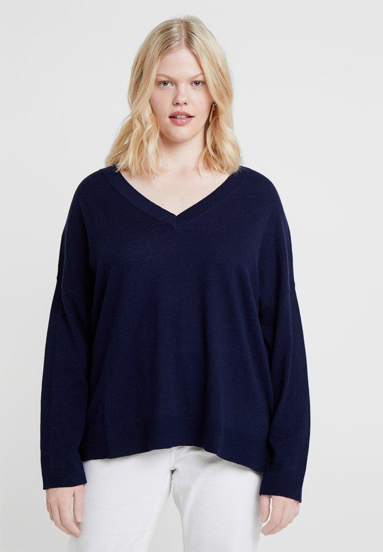 Zalando Essentials Curvy - Jersey de punto - dark blue