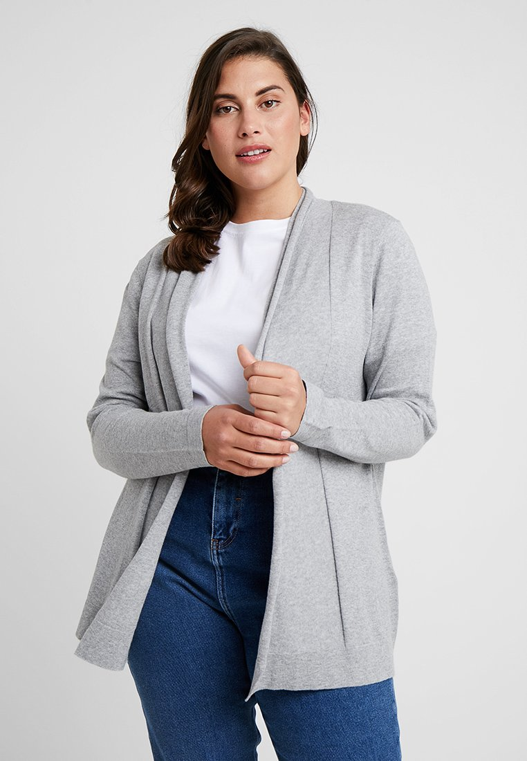 Zalando Essentials Curvy - Cardigan - grey melange
