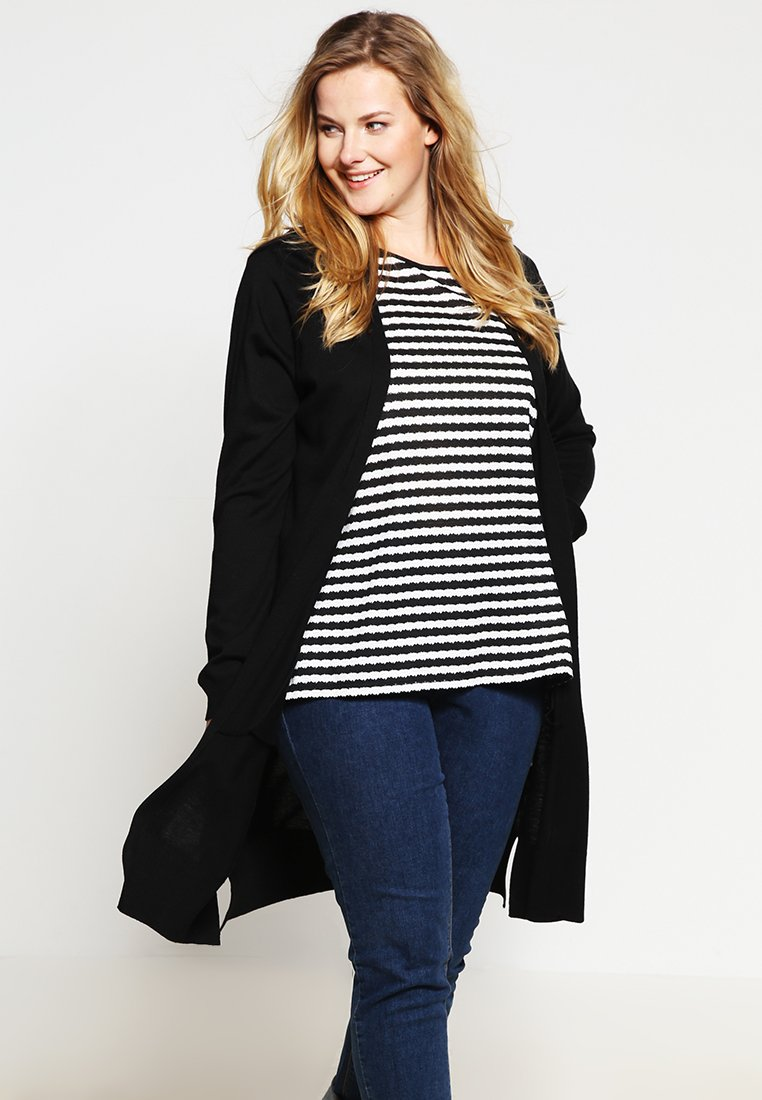 Zalando Essentials Curvy - Strickjacke - black