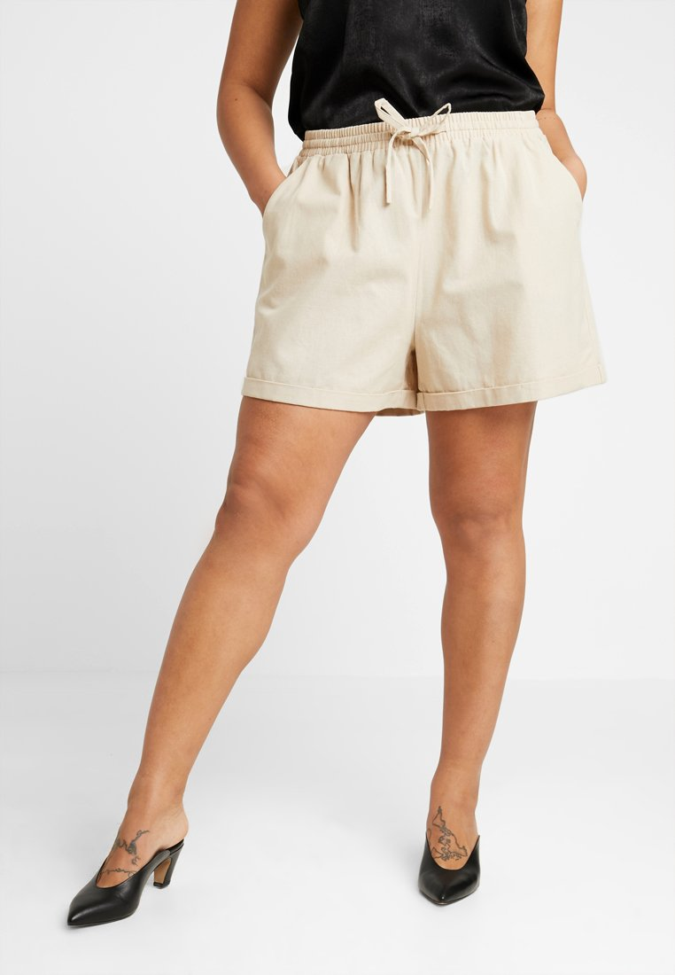 Zalando Essentials Curvy - Szorty - safari