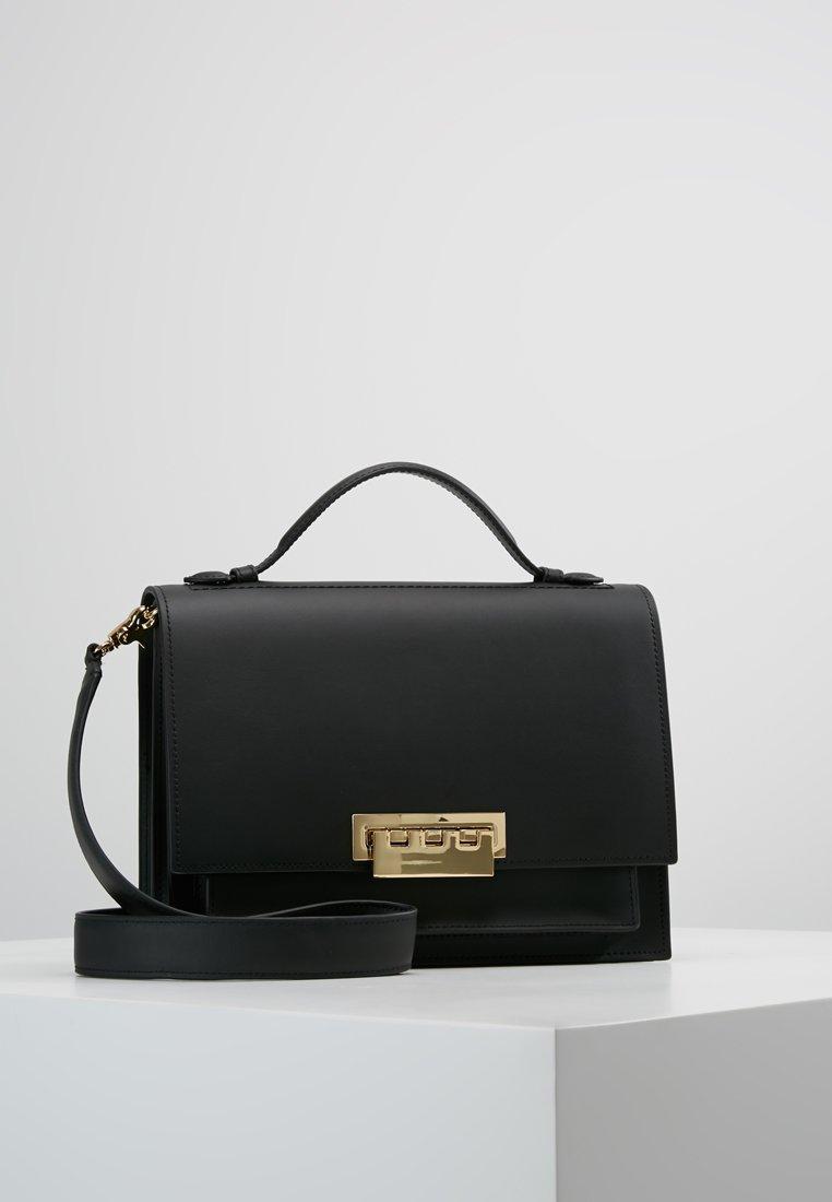 ZAC Zac Posen - EARTHA LARGE ACCORDIAN SHOULDER - Handtasche - black