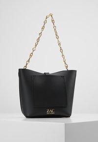 ZAC Zac Posen - BELAY MINI CROSSBODY SOLID - Handtasche - black - 2