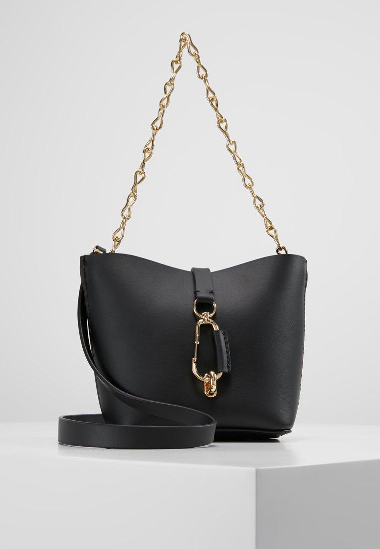 ZAC Zac Posen - BELAY MINI CROSSBODY SOLID - Handtasche - black