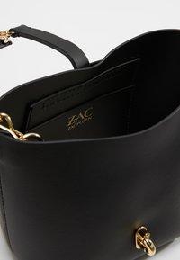 ZAC Zac Posen - BELAY MINI CROSSBODY SOLID - Handtasche - black - 4