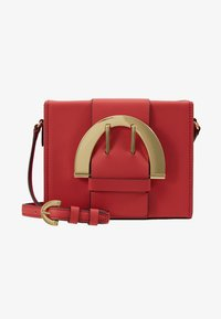 ZAC Zac Posen - BUCKLE LARGE BOX CROSSBODY - Umhängetasche - apple - 5