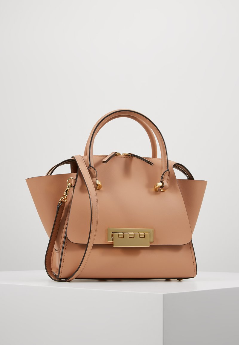 ZAC Zac Posen - EARTHA SMALL TOP ZIP SATCHEL SOLID - Sac à main - latte