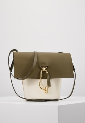 BELAY CROSSBODY COLORBLOCK - Umhängetasche - herb