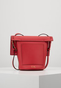 ZAC Zac Posen - BELAY CROSSBODY PERFORATION - Umhängetasche - chili pepper - 2