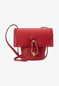 ZAC Zac Posen - BELAY CROSSBODY PERFORATION - Umhängetasche - chili pepper - 6