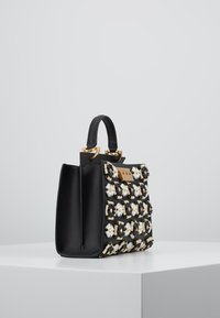 ZAC Zac Posen - EARTHETTE DOUBLE COMPARTMENT MINI FLORAL - Handtasche - black - 3