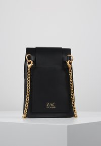 ZAC Zac Posen - BUCKLE PHONE CHAIN CROSSBODY COLORBLOCK - Umhängetasche - black - 2