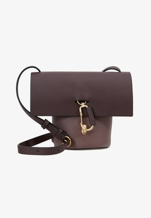 BELAY MINI CROSSBODY COLORBLOCK - Sac bandoulière - eggplant