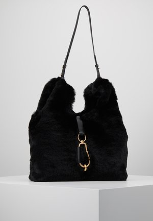 BELAY SHOPPER - Tote bag - black