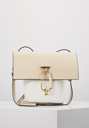 BELAY CROSSBODY COLORBLOCK - Axelremsväska - ivory