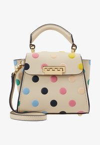 ZAC Zac Posen - EARTHA MINI TOP HANDLE CROSSBODY POLKA DOT - Handtasche - ivory/rainbow - 5