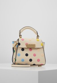 ZAC Zac Posen - EARTHA MINI TOP HANDLE CROSSBODY POLKA DOT - Handtasche - ivory/rainbow - 0