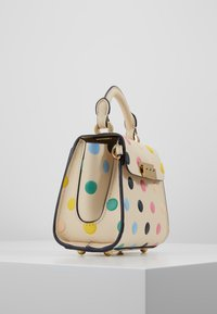 ZAC Zac Posen - EARTHA MINI TOP HANDLE CROSSBODY POLKA DOT - Handtasche - ivory/rainbow - 3