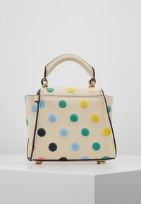 ZAC Zac Posen - EARTHA MINI TOP HANDLE CROSSBODY POLKA DOT - Handtasche - ivory/rainbow - 2