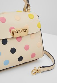 ZAC Zac Posen - EARTHA MINI TOP HANDLE CROSSBODY POLKA DOT - Handtasche - ivory/rainbow - 6