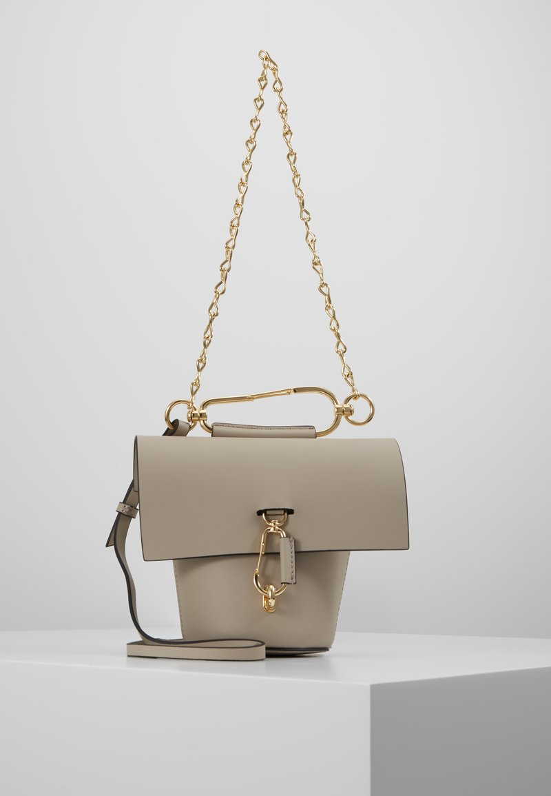 ZAC Zac Posen - BELAY CHAIN CROSSBODY SOLID  - Across body bag - silver sage