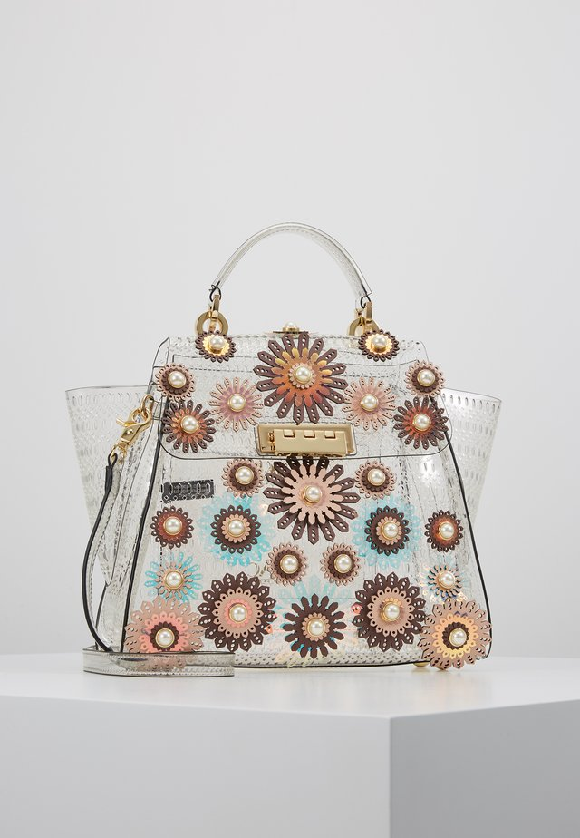 EARTHA CONVERTIBLE BACKPACK GLASS COLORBLOCK FLORAL - Handtasche - french roast