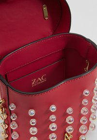 ZAC Zac Posen - BELAY MINI TOP HANDLE CANTEEN DOT - Umhängetasche - raspberry - 4