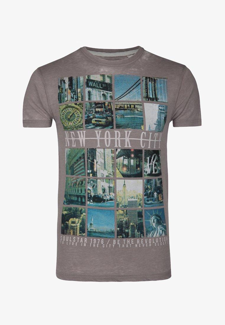 SOULSTAR - T-shirts print - light grey