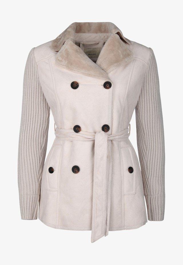 KURZMANTEL  - Winter coat - beige