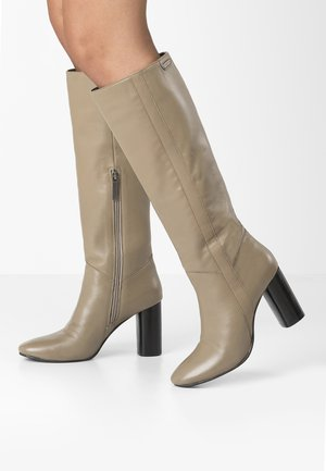 PARSON  - High heeled boots - sand