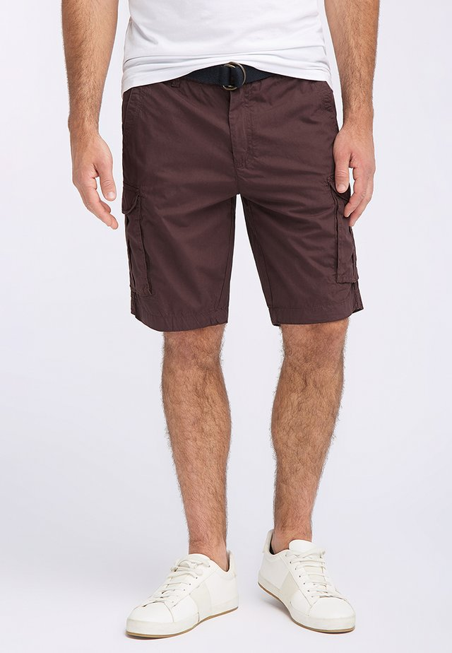 Shorts - dark burgundy