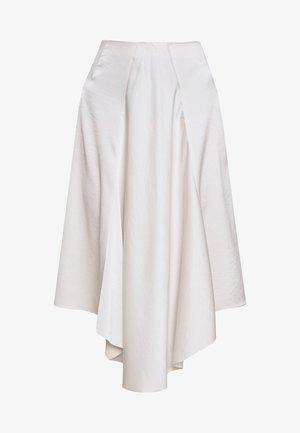 DRAPEY - Áčková sukně - ivory