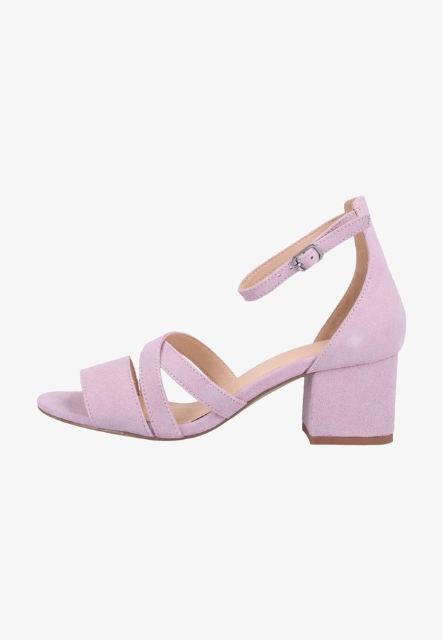 SHIRIN - Riemensandalette - light pink