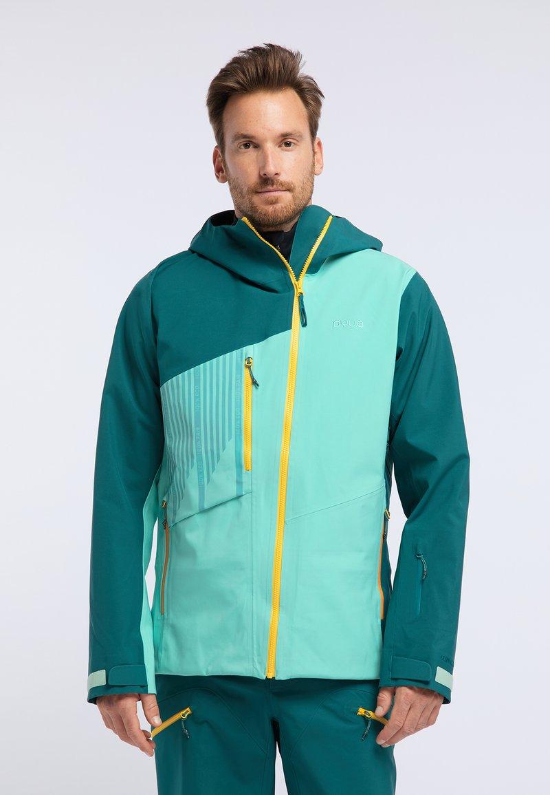 PYUA - FLIGHT - Snowboard jacket - green