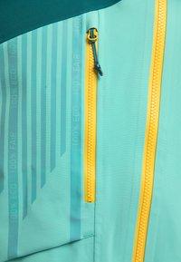 PYUA - FLIGHT - Snowboard jacket - green - 4