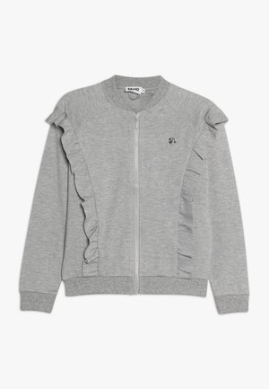 HERDIS - Chaqueta de punto - grey melange