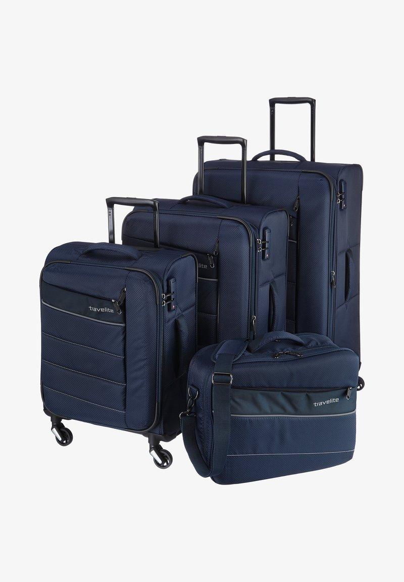 Travelite - KITE - Luggage set - blue