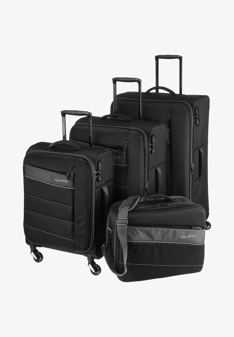 Travelite - KITE - Luggage set - black