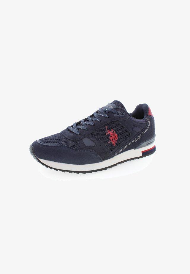 WILDE - Trainers - dark blue red