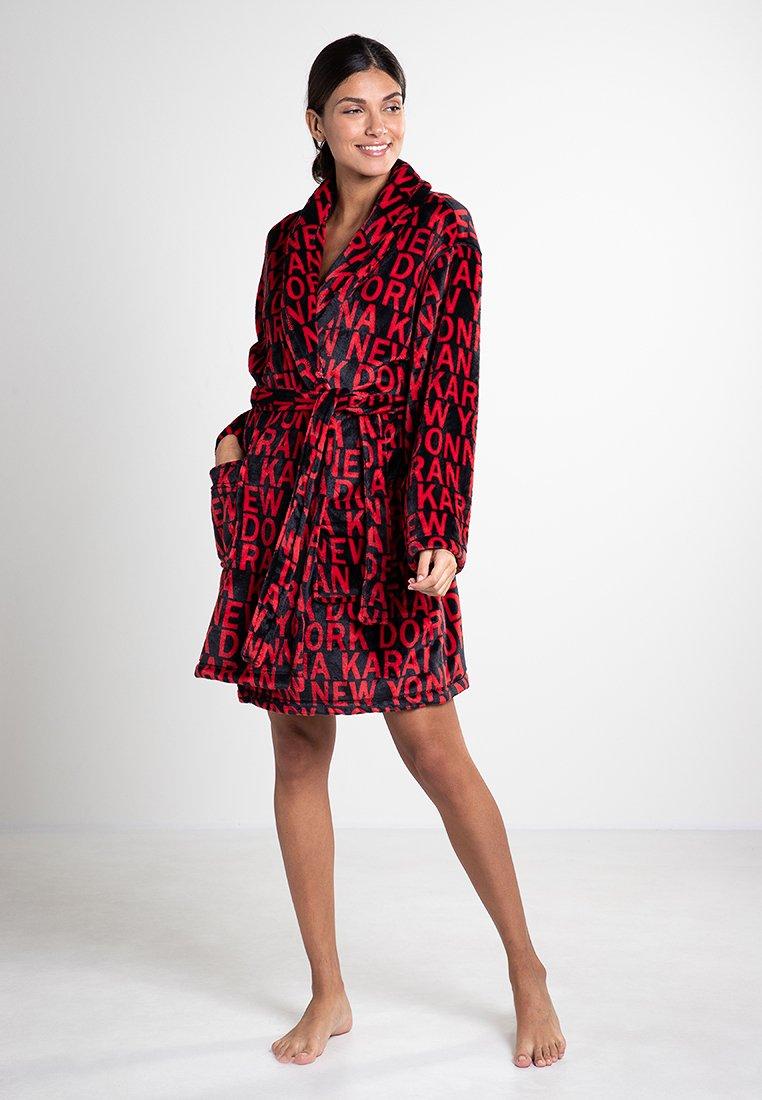 DKNY Loungewear - Bademantel - cranberry token