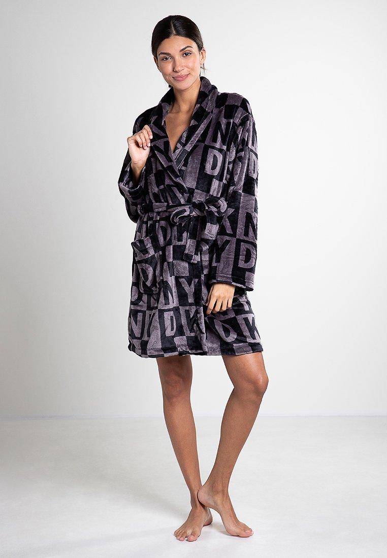 DKNY Loungewear - Dressing gown - black