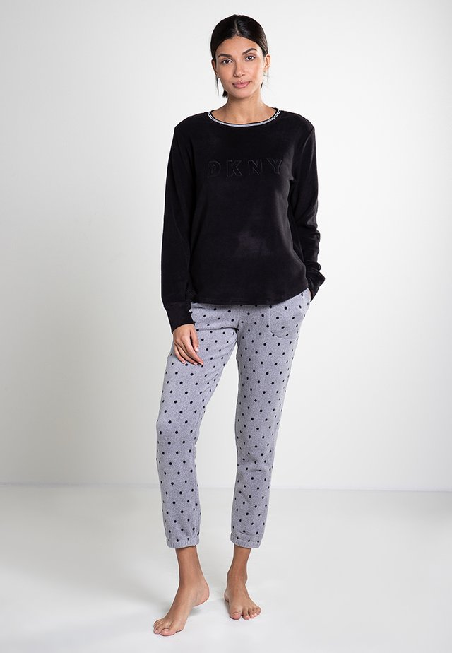 Pyjama set - grey dot