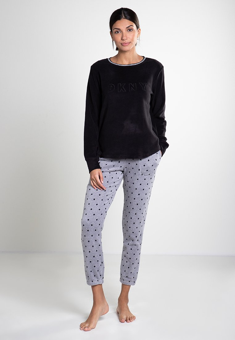 DKNY Loungewear - Pyjama set - grey dot