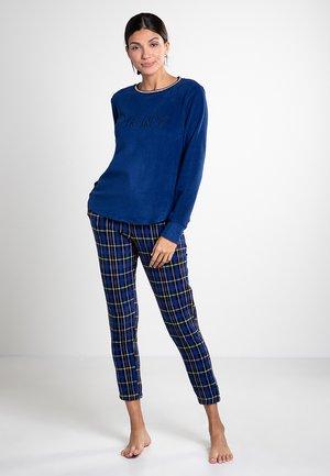 Pyjama set - navy print