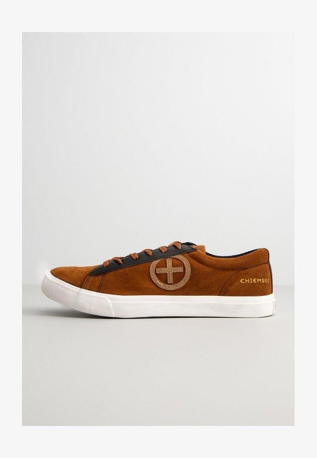 Sneakers laag - taupe/black