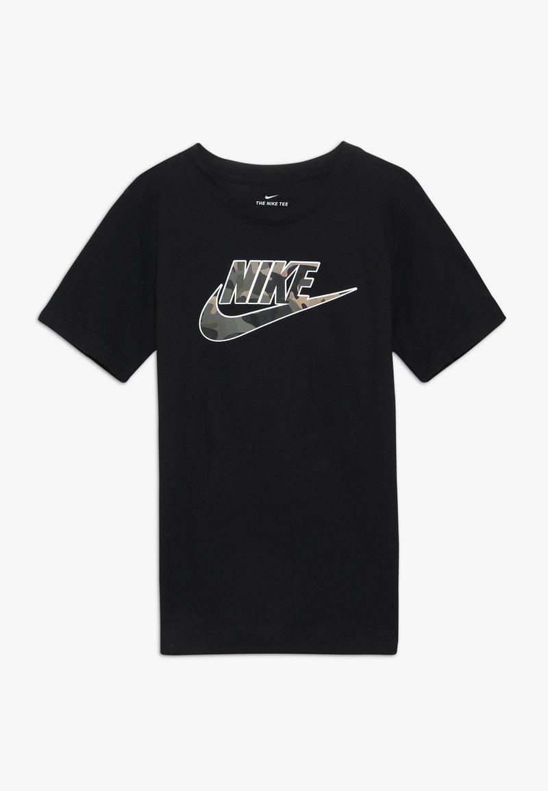 Nike Sportswear - TEE FUTURA FILL - T-shirts print - black