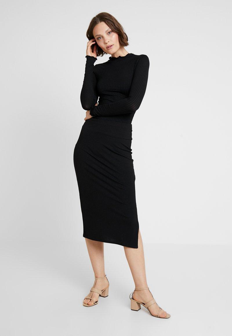 New Look - CARLY LETTUCE SET - Pencil skirt - black