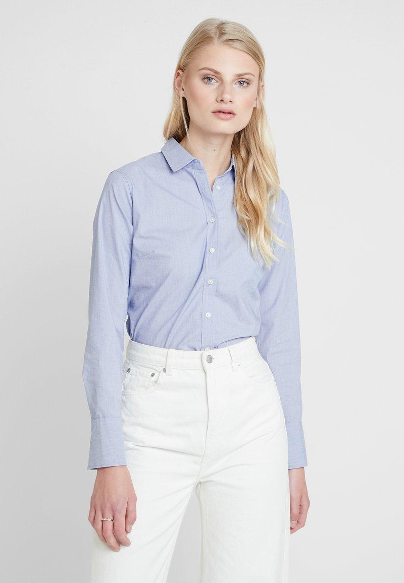 Banana Republic - RILEY - Button-down blouse - light blue