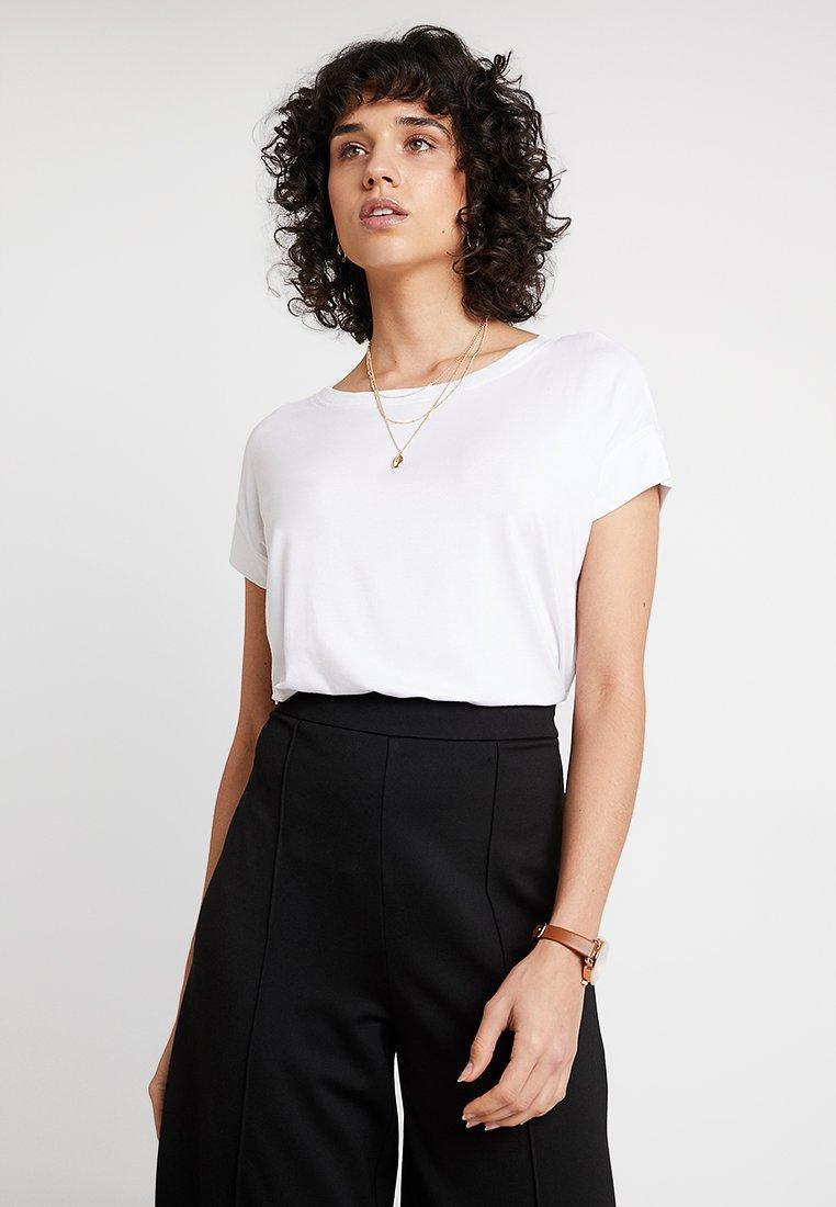 s.Oliver - KURZARM - T-Shirt basic - white